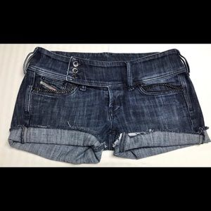 Diesel Blue denim shorts